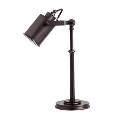 Photographer's Task Table Lamp - Bronze - Pottery Barn