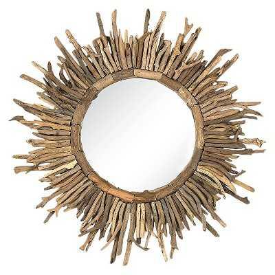 Driftwood Sunburst Mirror - Target