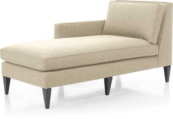Rochelle Left Arm Chaise Lounge - Crate and Barrel
