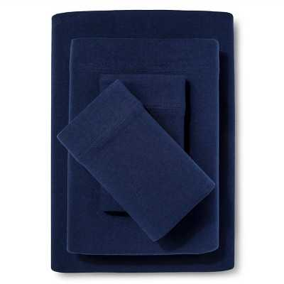 Room Essentials Jersey Sheet Set - Target