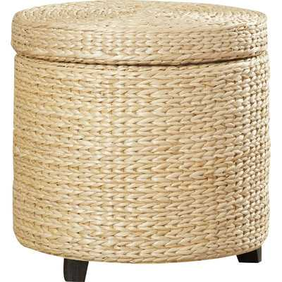 Kings Point Storage Ottoman - Natural - Wayfair