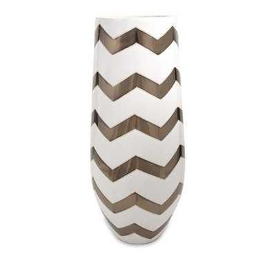 Chevron Vase - Wayfair