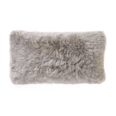 SMOOTH SHEEPSKIN PILLOW - Dwell Studio