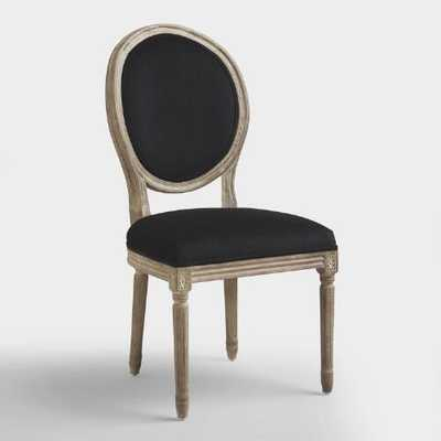 Black Round Back Paige Dining Chair - World Market/Cost Plus