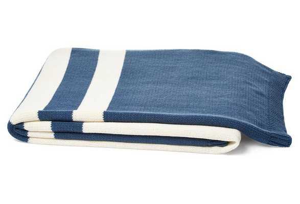 Slate Blue Throw - Domino