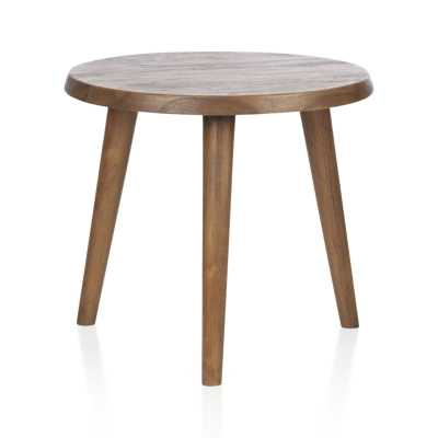 Edgewood Round Side Table - Crate and Barrel