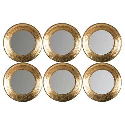 Safavieh Decorative Wall Mirror - Gold - Target