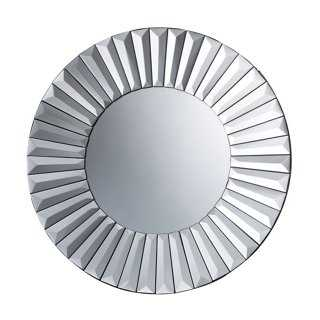 Mya Wall Mirror, Clear - One Kings Lane