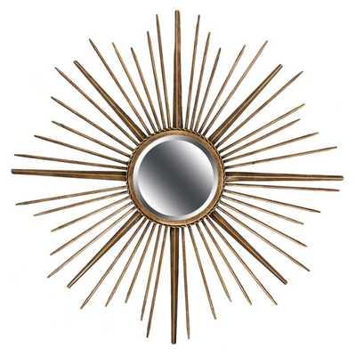 Sunburst Metal Wall Mirror - AllModern