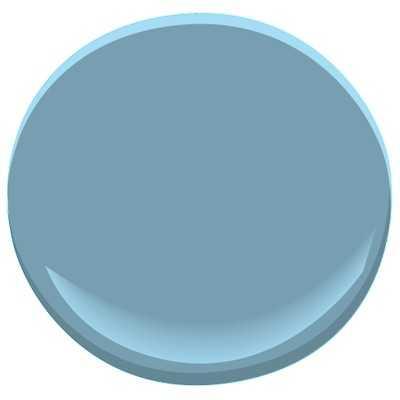 Benjamin Moore ben - Hamilton Blue PM-6 - Benjamin Moore