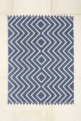 Assembly Home Diamante Printed Rug - Navy, 8x10 - Urban Outfitters