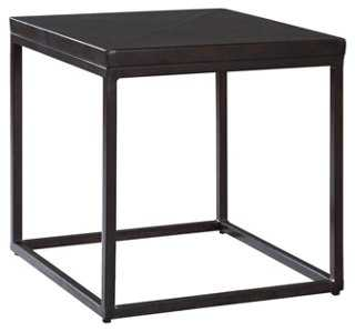 Industrial Renaissance Square Side Table - One Kings Lane