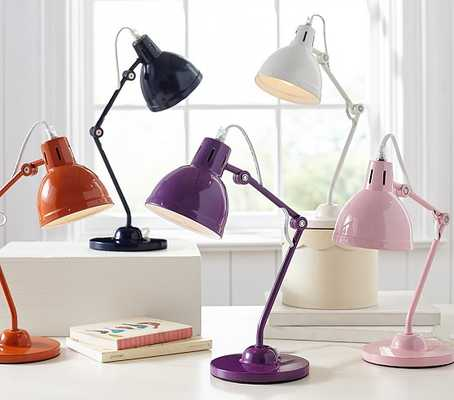 Solid Task Lighting - Pink - Pottery Barn Kids