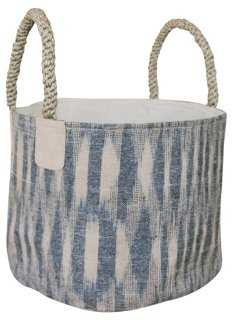 Pacific Medium Basket, Ikat - One Kings Lane