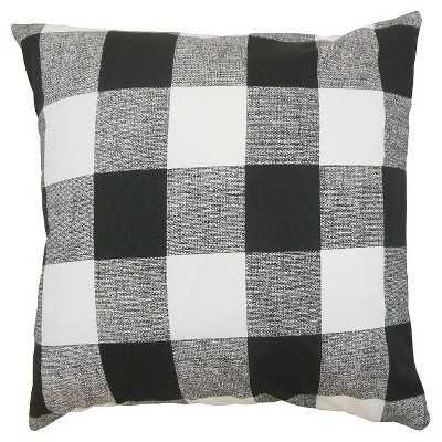 The Pillow Collection Buffalo Check Decorative Pillow - Target