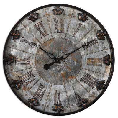 "Artemis Oversized 24"" Wall Clock - Wayfair"