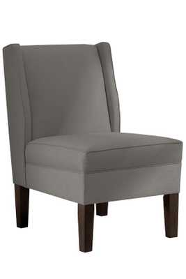 CUSTOM EATON ARMLESS WINGBACK CHAIR - Home Decorators