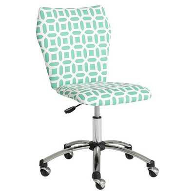 Peyton Airgo Armless Chair - Pottery Barn Teen