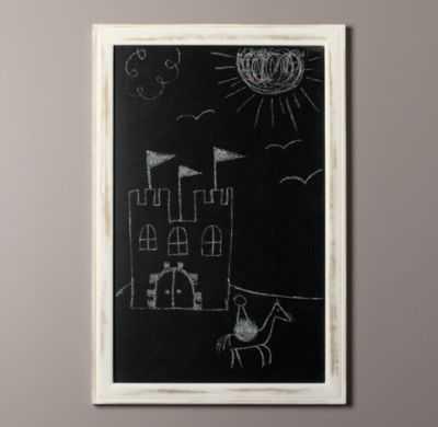 Weathered chalkboard - Large - RH