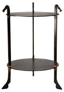 Derby Equestrian Round Side Table - One Kings Lane