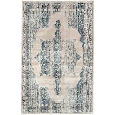 Oriental Vintage Persian Area Rug - Overstock
