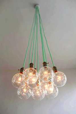 9 Clustered Pendant Light - Modern Chandelier - Etsy