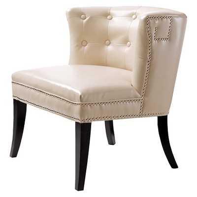 Bianca Shelter Slipper Chair - Bone - Target
