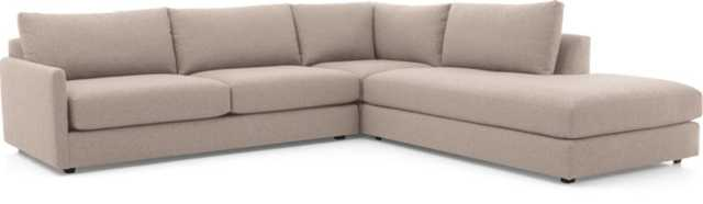 Drake 3-Piece Sectional Sofa - Crate and Barrel