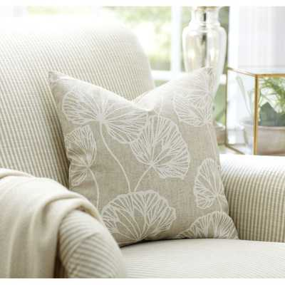 """Gwendolyn Pillow Cover - Natural - 18"""" Square - Birch Lane"""