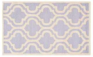 Sacha Rug, Lavender/Ivory - One Kings Lane