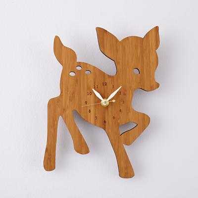 Fawn On Forest Time Wall Clock - Land of Nod