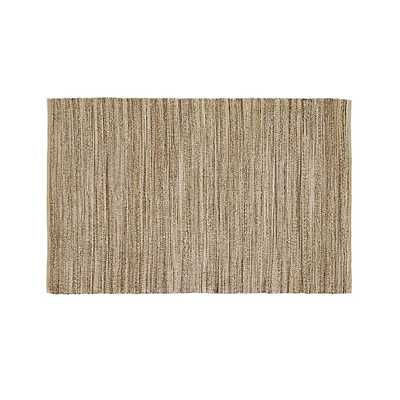 Jarvis Grey Jute-Blend 9'x12' Rug - Crate and Barrel