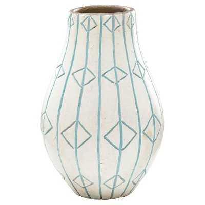 """Thresholdâ""""¢ Medium White Ceramic Vase - Target"""