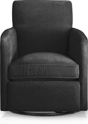 Zoe Swivel Chair - Crate and Barrel