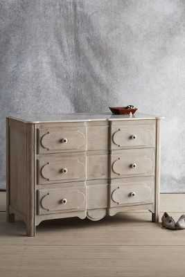 Grasse 3 Drawer Dresser - Anthropologie