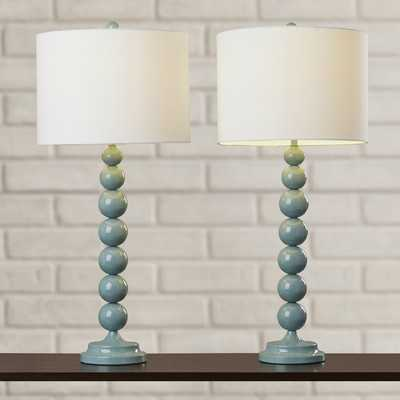 "31"" H Table Lamp with Drum Shade - Wayfair"