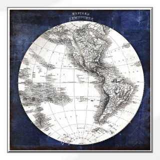 """Celestial Blueprint 20"""" x 20"""" framed - One Kings Lane"""