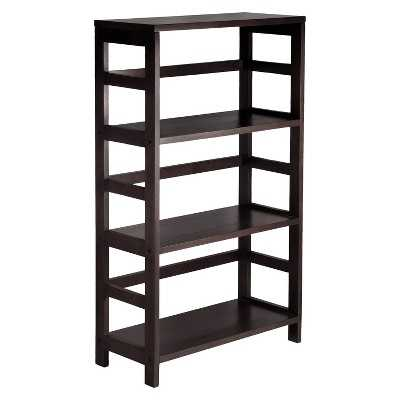 Winsome 3 Section Wide Bookshelf - Target