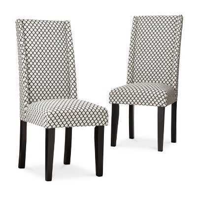Charlie Modern Wingback Dining Chair - Set of 2 - Target