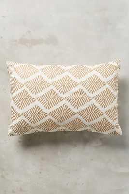 "John Robshaw Sharak Pillow 12"" x 18"" with insert - Anthropologie"