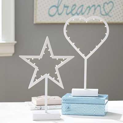 Icon Décor Lights-White Star - Pottery Barn Teen