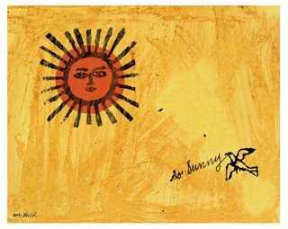 Andy Warhol, So Sunny, 1958 - One Kings Lane