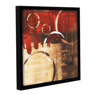 "Red Revolution II - 24"" x 24"" - Framed - Overstock"