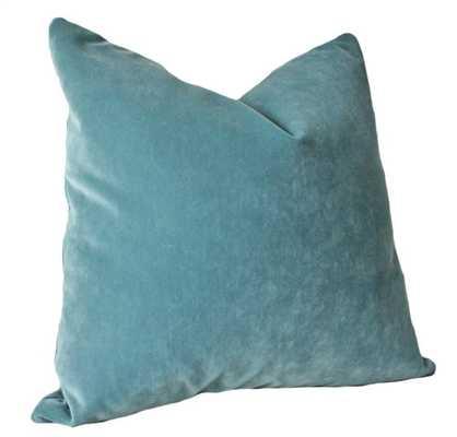 Designer Decorative Aqua Pillow Cover - Etsy