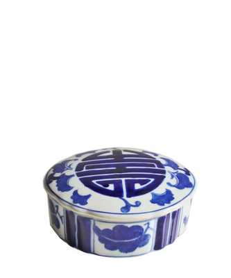 Blue & White Porcelain Box - High Street Market