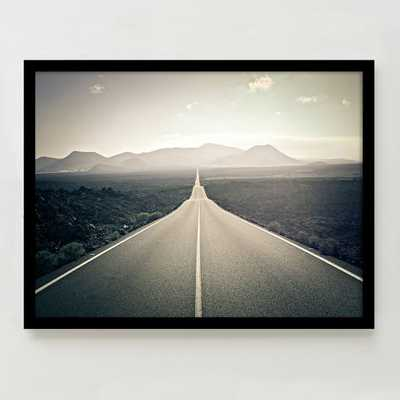 "Framed Print - Down the Road- 24""w x 18""h - West Elm"
