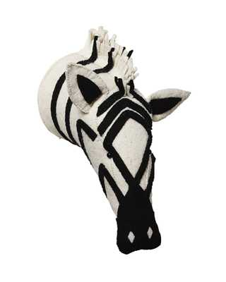 Mounted Zebra - Serena and Lily