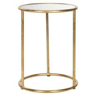 Gold Accent Table - Domino