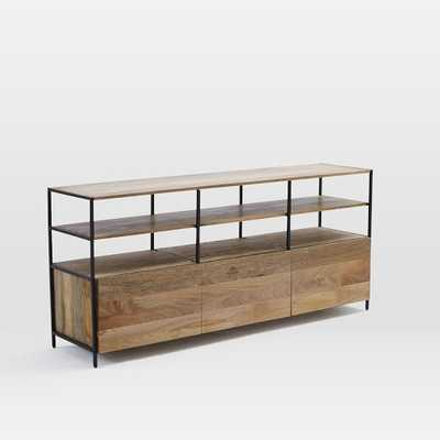"Industrial Modular 67"" Media Console - West Elm"