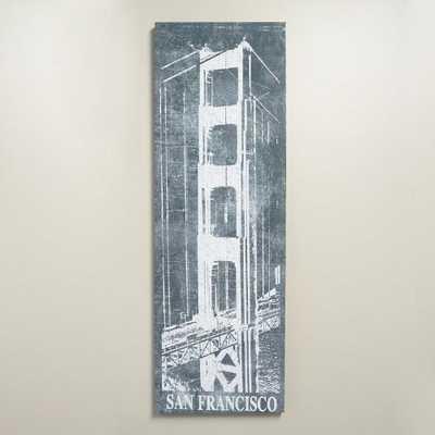 """San Francisco Chalk Art"" - World Market/Cost Plus"